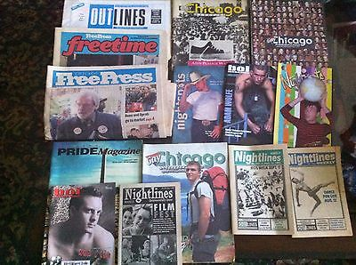 Lot3 Chicago: Nightlines Nightspots GayChicago Pride Other Gay Magazines
