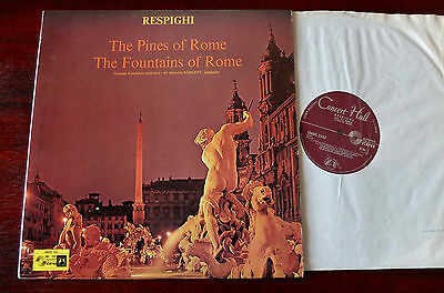 Smsc-2532 Respighi Pines  & Fountains Of Rome Lp Sargent Nm Concert Hall (1967)