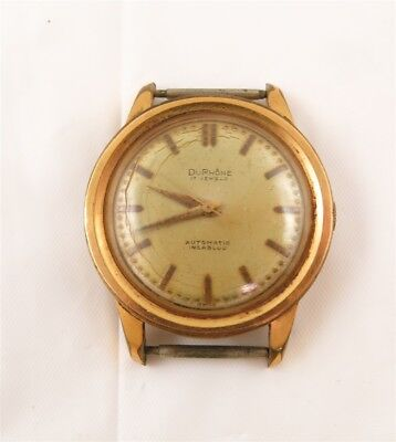 Vintage DuRhone 17 Jewel Automatic Wrist Watch HM1560