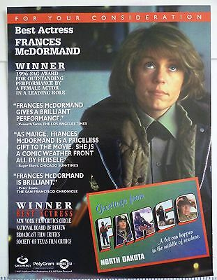 Fargo Movie Ad for Best Actress