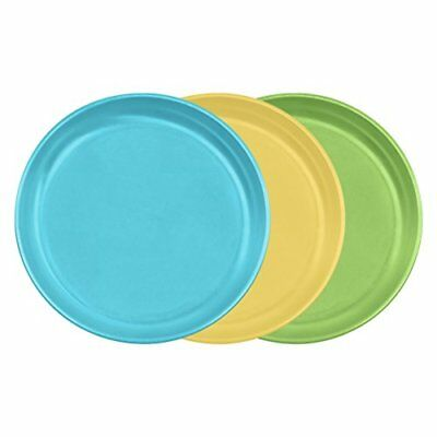 Green Sprouts Sprout Ware Plate Aqua Assortment 3 ct Baby Food Storage Container