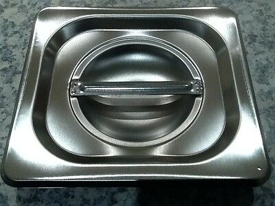 Brand New Stainless Steel 1/6 Tray Lid