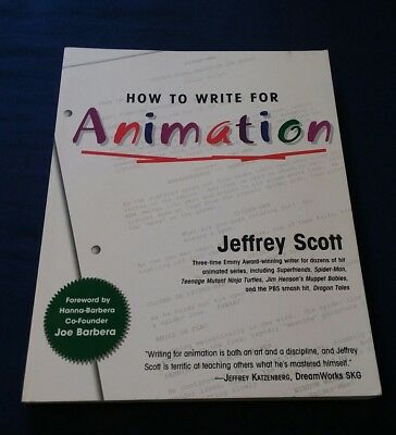 How to Write for Animation by Jeffrey Scott (2003, Paperback)
