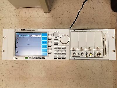 HP Agilent 8164A mainframe with 81680A Tunable Laser Source