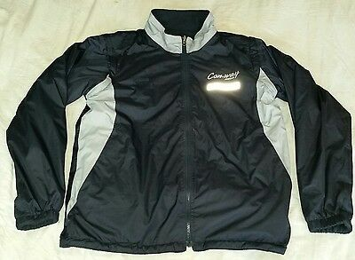 Con-Way Freight Uniform Reversible Removable Sleeves Jacket Reflective Men's M