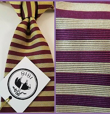 Brooks Brothers Makers Luxury Woven Silk Necktie 👔 Nwt $79