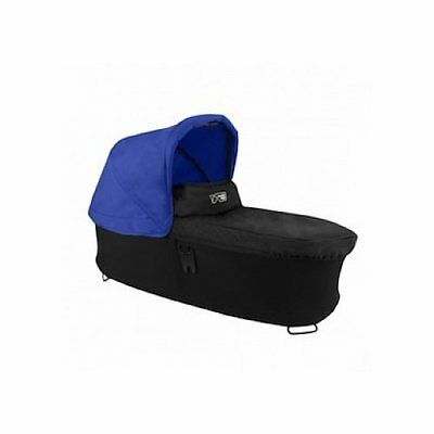 Mountain Buggy Carrycot Plus for Duet Double Stroller with Sunhood Blue, New