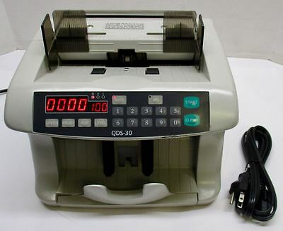 Quality Data Systems QDS-30 Money Dollar Bill Currency Counter