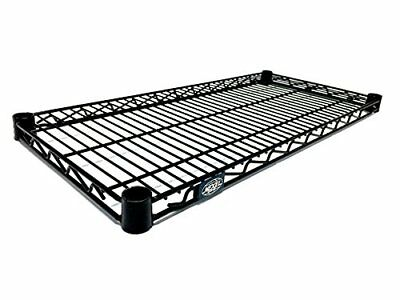 Nexel Wire Shelf Black Epoxy Finish 18W x 48L Racks, Shelves & Drawers, New
