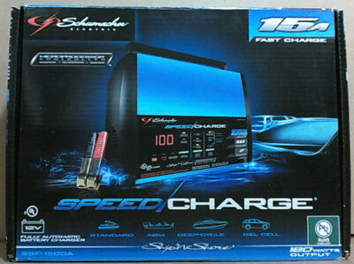 NEW Schumacher SSF-1500A Ship N Shore Speedcharge Electronic Battery Charger$110