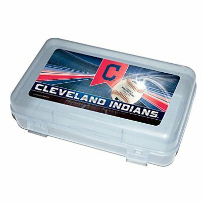C.R. Gibson Plastic Pencil Case With Team Logo Licensed By MLB Measures 8.25 x 4