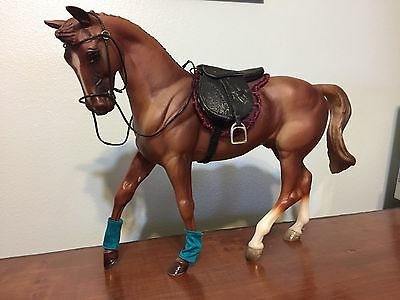 Big Ben Breyer horse #483 1996 show jumping champian with saddle and bridal