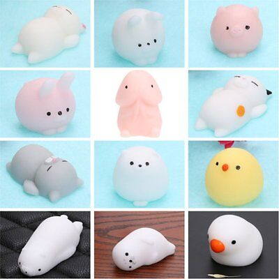 Funny Cute Anti Stress Face Reliever Animal Autism Mood Vent Squeeze Toy 2017