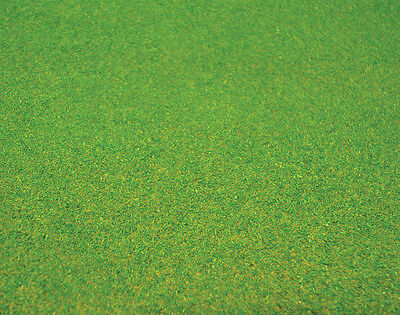 1:12 Scale Dolls House Textured Green Grass Lawn Accessory 60cm x 60cm L15 Med