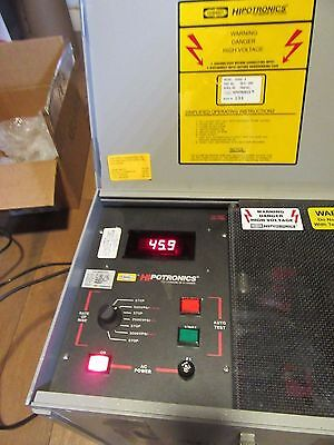 Hubbell Hipotronics OC60D-A Portable Oil Dielectric Tester 60kV