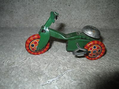 Antique Key Wind Up Toy Bike