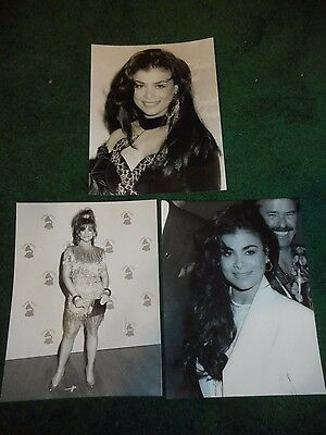 Paula Abdul - 3 Original Candid Photos