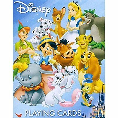 Disney Friends Playing Card Deck by Office Calendars Planners Accessories, New