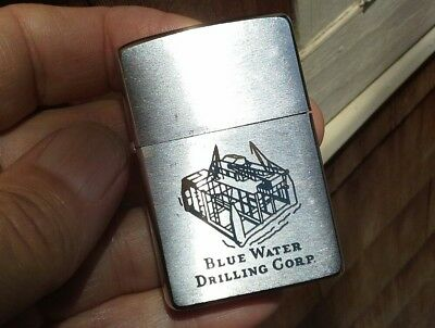 ZIPPO Lighter øø 1962 øø BLUE WATER Drilling Corp.