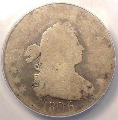 1806 Draped Bust Quarter 25C - ANACS FR2 (Fair) - Rare Early Certified Coin