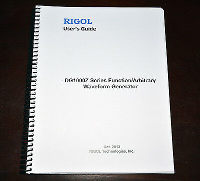 Rigol DG1000Z Series Function Generator Operating Manual