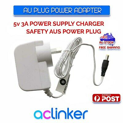 AC240V to DC 5V 2A Power Supply Adapter Charger White AU Plug 5.5mm * 2.5mm