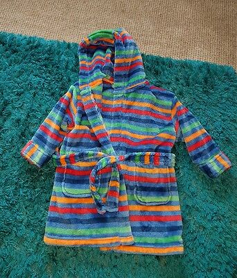 baby boys next dressing gown 12-18 months