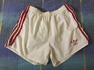 PANTALONCINO ADIDAS MADE IN ITALY shorts shiny VINTAGE sprinter germany Size M