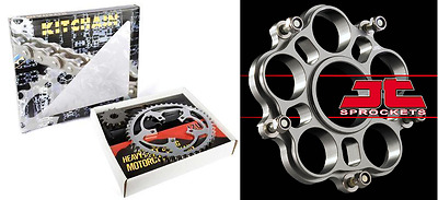 Kit chaine 525 Z3 Pignon 15 Support Couronne 39 DUCATI 1100 Monster Evo 11-13