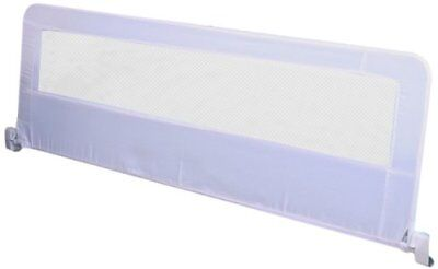 Regalo Swing Down Extra Long Bedrail White Bed Rail Hide Away Toddler Safety