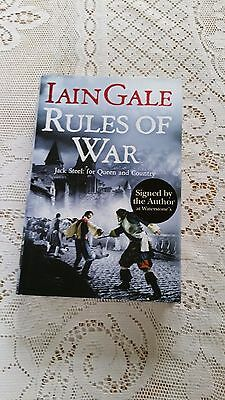 Rules of War by Iain Gale (Signed First Edition Hardback, 2008)