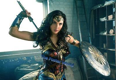 Beautiful Wonder Woman Movie Picture Poster Home Art Print / Wall Decor New M2