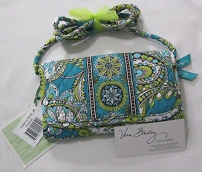 Vera Bradley PEACOCK WALLET With STRAP Clutch COIN Purse CROSSBODY For Tote  NWT