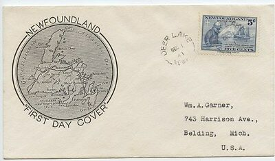Lot 61548 252 Newfoundland Fdc Grenfell & Strathcona 11 Issue Sailing Ship