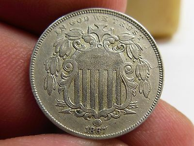 1867 5C, Discovery Coin, New Variety, S1-3008, Similar To Ex-Rare Fletcher F-06