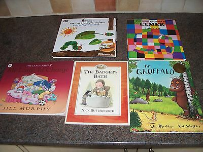 Collection of Children's Books including The Gruffalo.