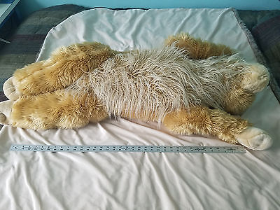 "HUGE Large Golden Retreiver / Lab Plush Stuffed Dog Toy 40"" Long Very Soft"