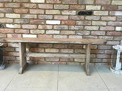 Antique French Farmhouse Bench