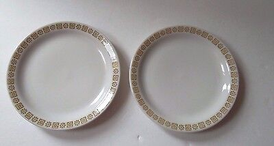 2 Vintage Shenango China Small Plates Country Kitchen Pattern  B J-37