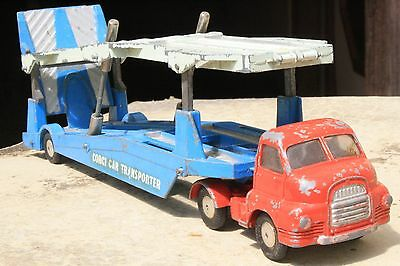 CORGI 1101 BEDFORD CARRIMORE CAR TRANSPORTER good condition 1950s