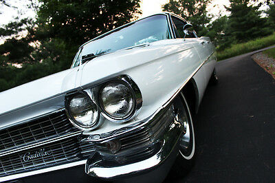 1963 Cadillac DeVille  2 OWNER, WHITE DeVille, VERY NICE, LOW MILES!