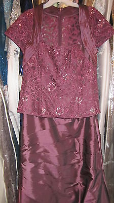 Macis Design Mother of the Bride / Groom Gown Size 16