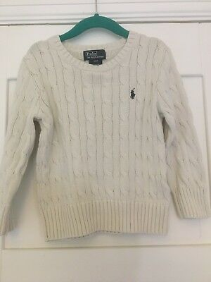 Boys Ralph Lauren Polo Jumper Age 3 Years