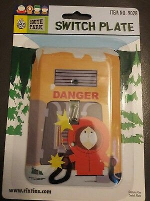 South Park Light Switch Plate Kenny Comedy Central Colkector