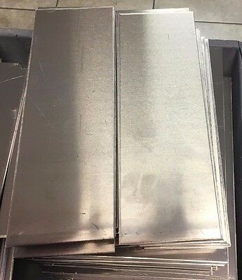 "2 Pcs - 4"" x 12"" Aluminum Sheet Metal .188"" Thick (3/16"" / 5 Gauge)Plate"