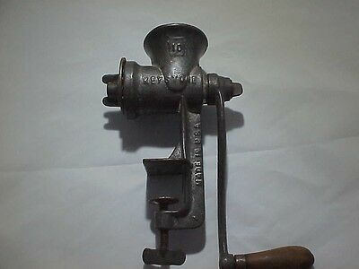 Vintage Hand Crank Meat Grinder by C.I. Co. Made in U.S.A. in Boyertown, PA.