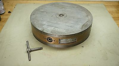"""15"""" Permanent Round Magnetic Chuck ~ Brown & Sharpe ~ 14R"""
