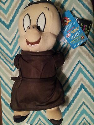 Looney Tunes PORKY PIG Friar Tuck Plush Doll Stuffed Animal Monk Robin Hood