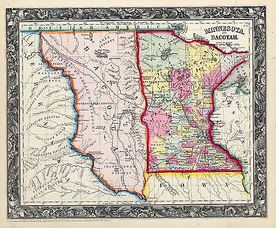 North South DAKOTA 110 maps state PANORAMIC old genealogy lots HISTORY atlas DVD