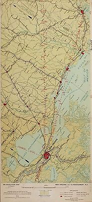 1923-1935 UNITED STATES AIR NAVIGATION MAPS early aviation airport 76 ROUTES DVD